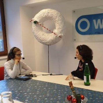 SpzialPod Maria Wegenschimmel und Dina Nachbaur im Gespräch