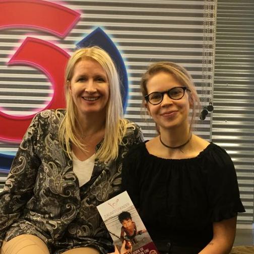 Claudia Stöckl zu Gast beim Sozial Pod